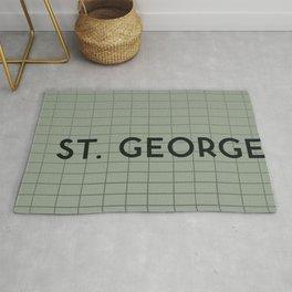 ST. GEORGE | Subway Station Rug