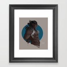 Xaman Framed Art Print