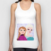 frozen Tank Tops featuring Frozen by Sammycrafts