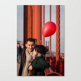 Balloon Love Canvas Print