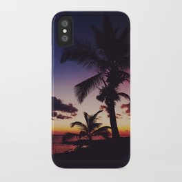Summer Night Sunset iPhone Case