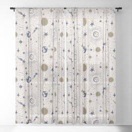 Solar System - Ether Sheer Curtain