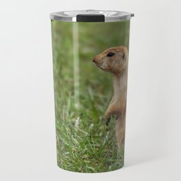 Prairie Dog on the Lookout Travel Mug