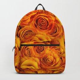 Grenadier Tangerine Roses Backpack