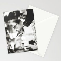 The man of birds Stationery Cards