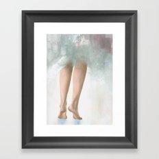 Barely A Whisper Framed Art Print