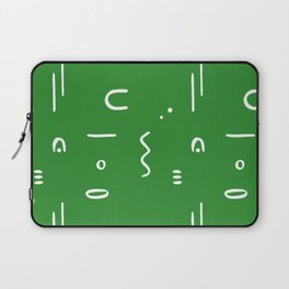 Peppy (moss green) Laptop Sleeve