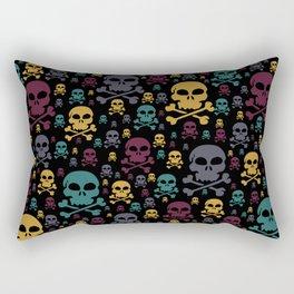 Skulls Rectangular Pillow
