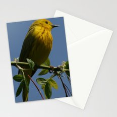 Yellow Warbler Stationery Cards