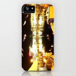 Port Of Myrina At Night iPhone Case