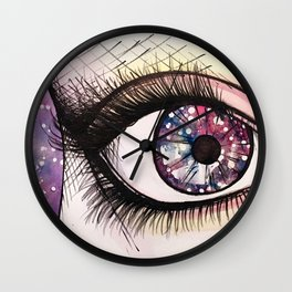 cosmic eye Wall Clock