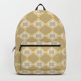 Fleur de lis 4 ...gold , gold Backpack