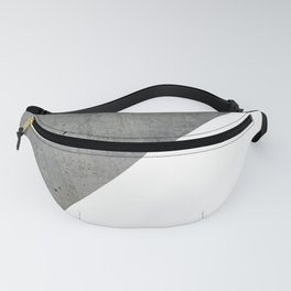 Concrete Vs White Fanny Pack