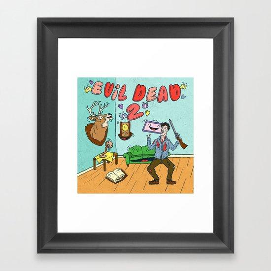 ♥ EVIL DEAD 2 ♥ Framed Art Print