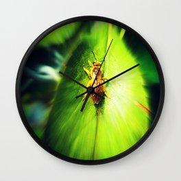 Pollen Bath Wall Clock