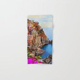 Italy, Cinque Terre Hand & Bath Towel