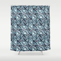 paisley Shower Curtains featuring Paisley by Jada K McGill