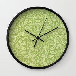 "William Morris ""Acorn"" 3. Wall Clock"