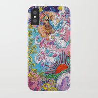 sylveon iPhone & iPod Cases featuring Sylveon Watercolor by Theresa Felice
