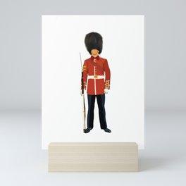 Queen London Guard  Mini Art Print