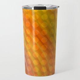 Pattern orange Travel Mug