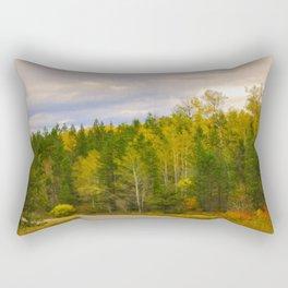 Ashton Idaho - The Road Less Traveled Rectangular Pillow