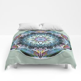 Mandalas from the Heart of Truth 2 Comforters
