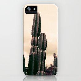 Cactus Towering Purple Chrome  iPhone Case
