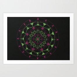 Color Combo #3 Art Print