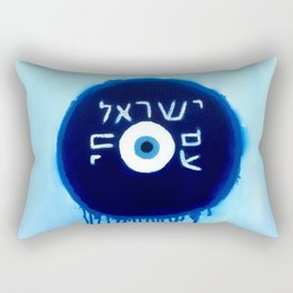 Nazar Ayin Blue Shift (We Lived, B****) Rectangular Pillow