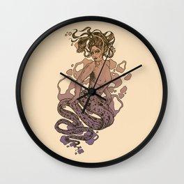 Nixie Orange and Purple Wall Clock