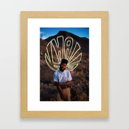 The Great Khalid Framed Art Print