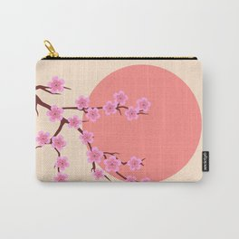 spring sakura and sun Carry-All Pouch