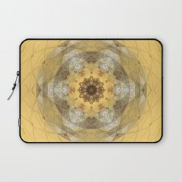 Golden Octavian Mandala Laptop Sleeve