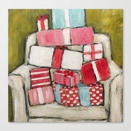 Pile of Presents by Trish Jones Canvas Print