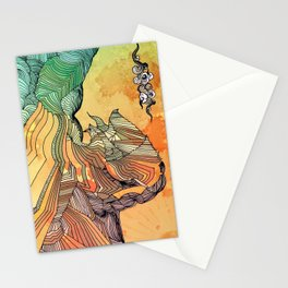 Wave of Thought Stationery Cards