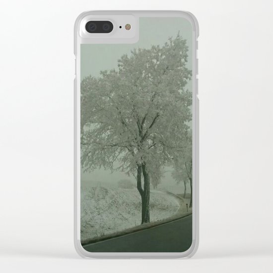 Winter Landscape - Austria Clear iPhone Case