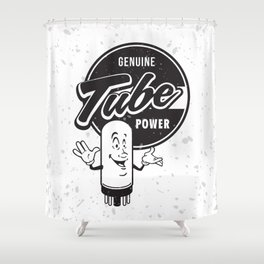 Genuine Tube Power Shower Curtain