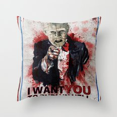 I want you! Throw Pillow