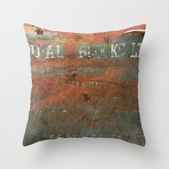 DU-AL Throw Pillow