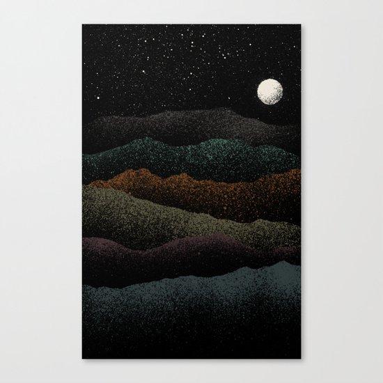 Mountains Beyond Mountains Canvas Print