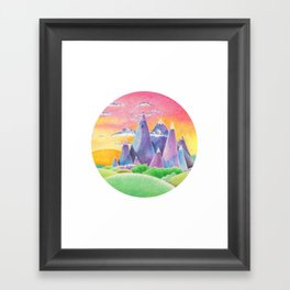 The Ice Kingdom Framed Art Print