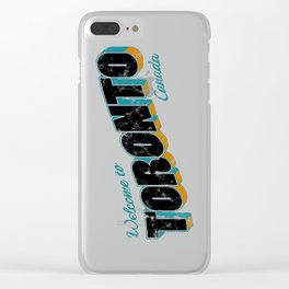 Welcome to Toronto Clear iPhone Case