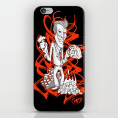 BURNER MONEY iPhone & iPod Skin