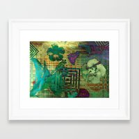 hibiscus Framed Art Prints featuring Hibiscus by Vitta