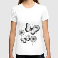 butterflies T-shirts featuring Butterflies by LouJah
