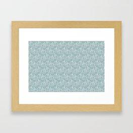 White houses Framed Art Print