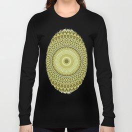 Fractal Kaleido Study 003 in CMR Long Sleeve T-shirt