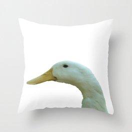 Just Ducky Vector Throw Pillow