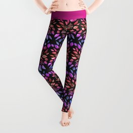 All the Colors of Nature - Gradient on Dark Background Leggings